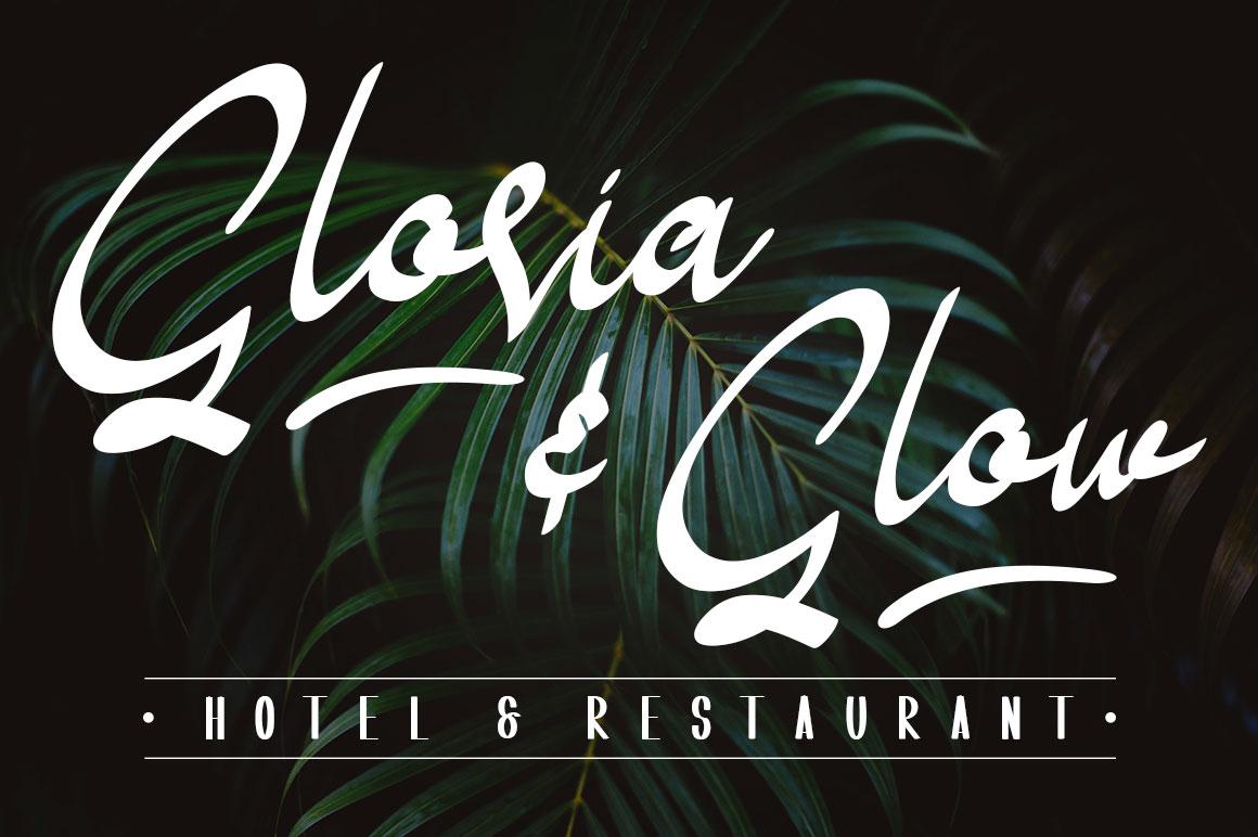 Shoneratty Chika Typeface example image 5
