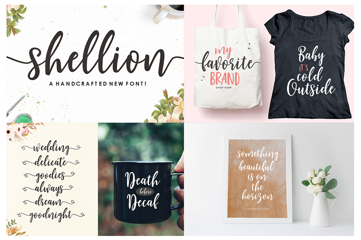 The Handlettered Font Collection example image 8