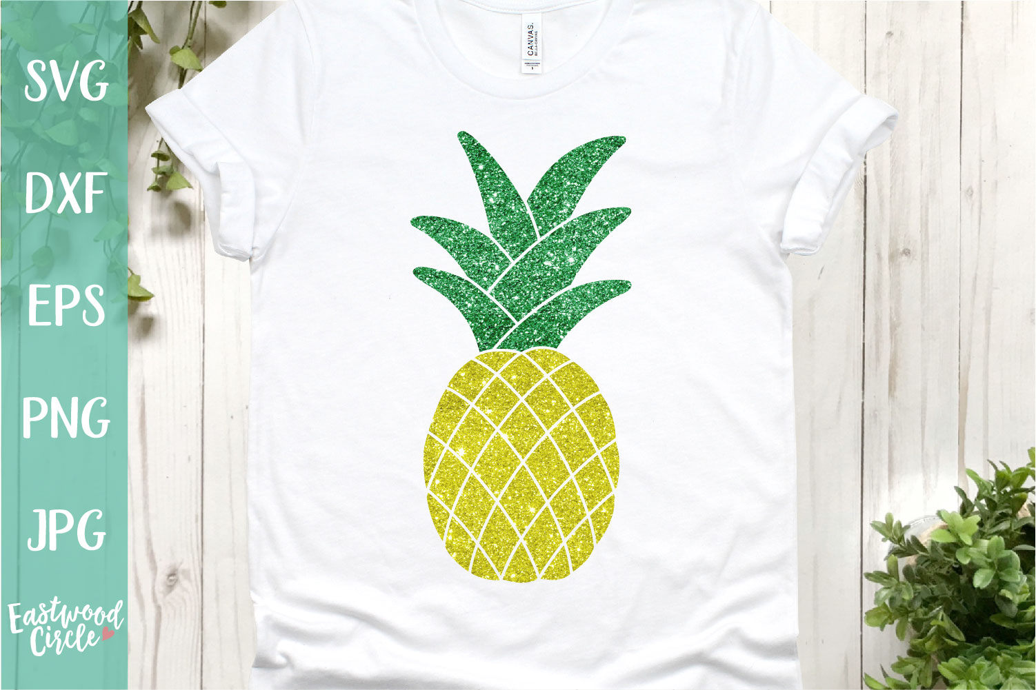 Pineapple - A Summer SVG File for Crafters example image 1