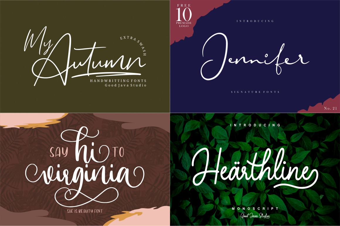 BEST CRAFTER FONT COLLECTIONS example image 7