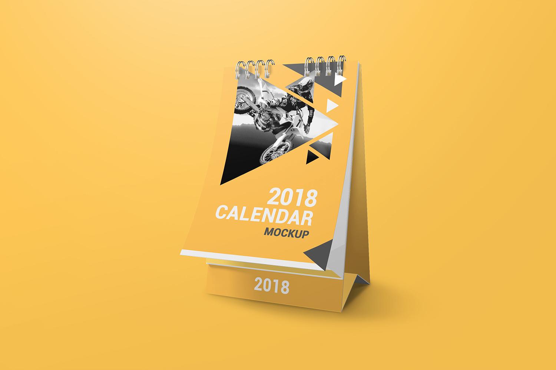 a6 Desk Calendar Mockups example image 2