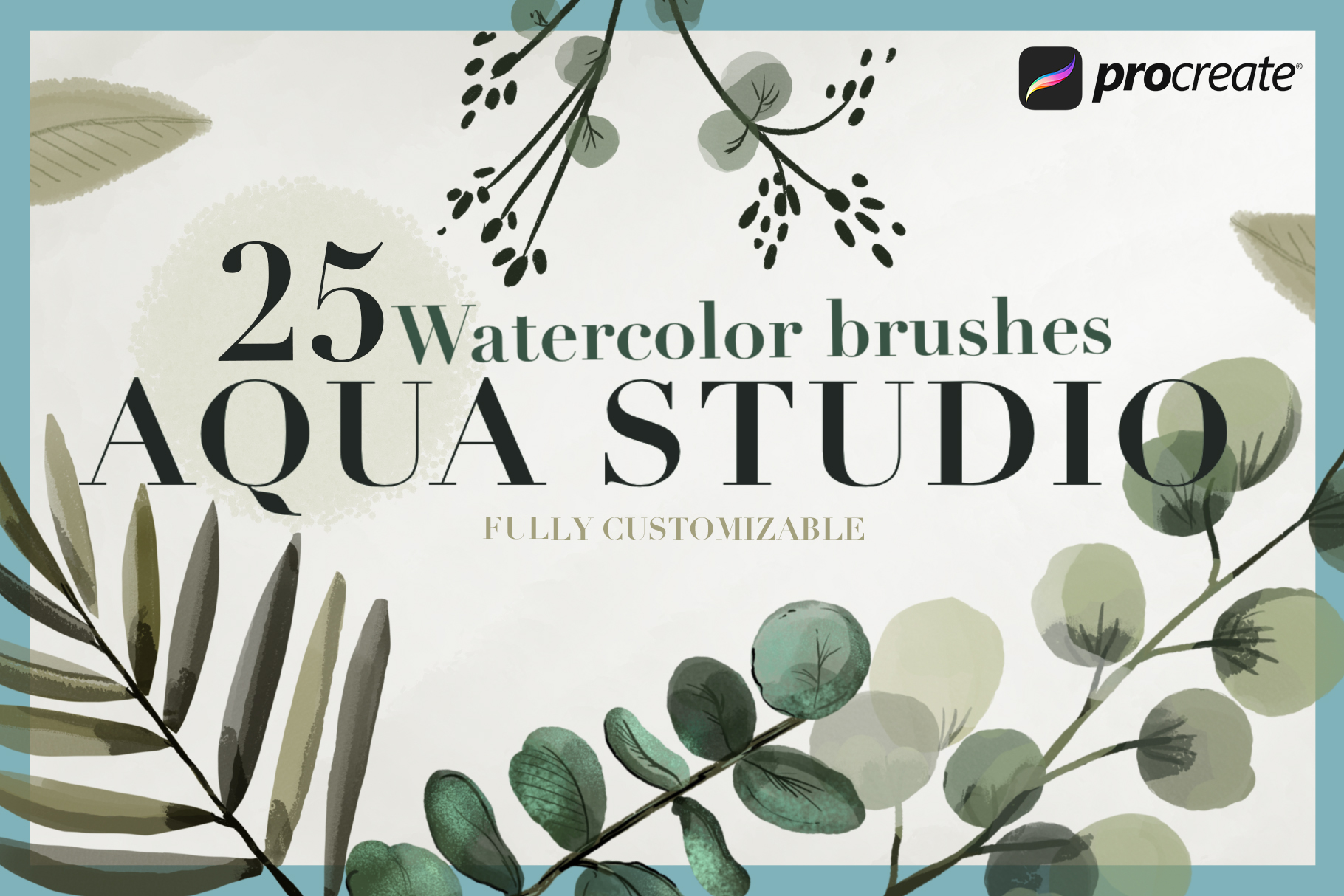 Aqua Studio Watercolor brushes example image 1