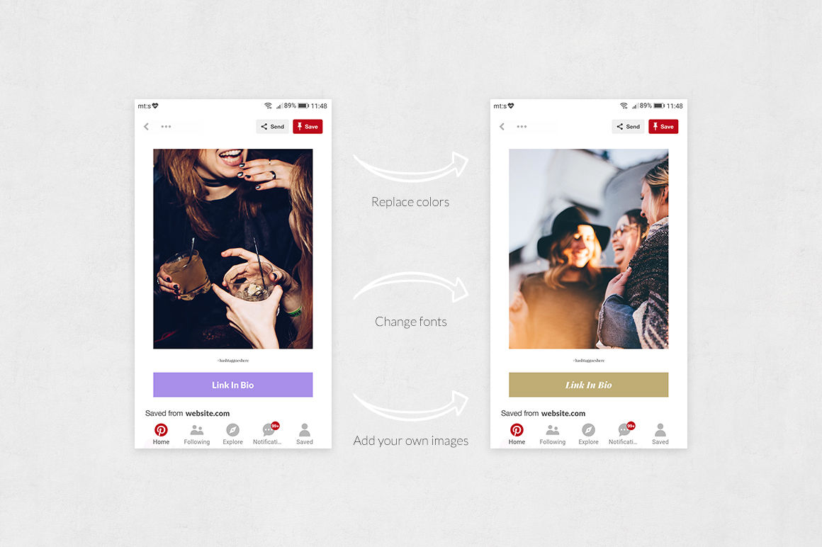 Party Pinterest Posts example image 5