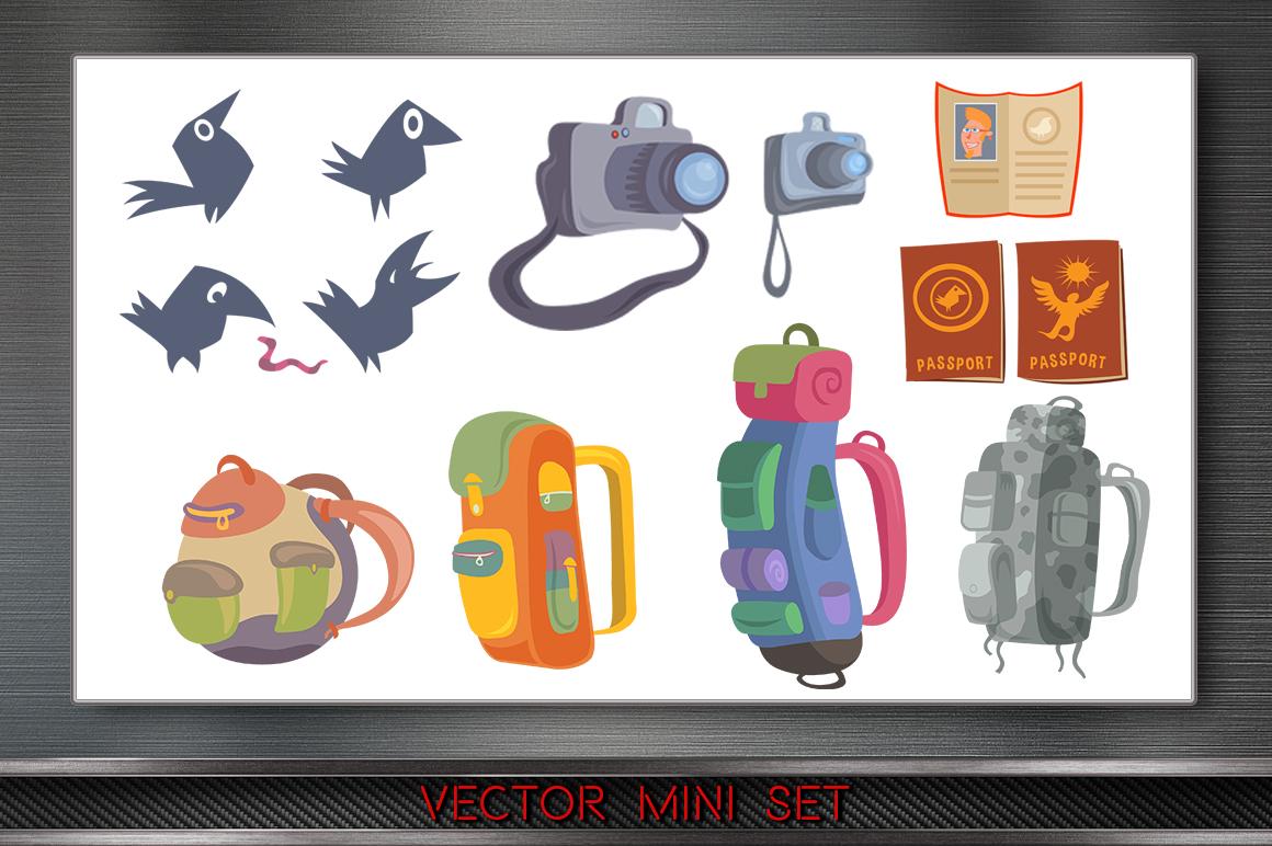 Mini Travel Character Set example image 3