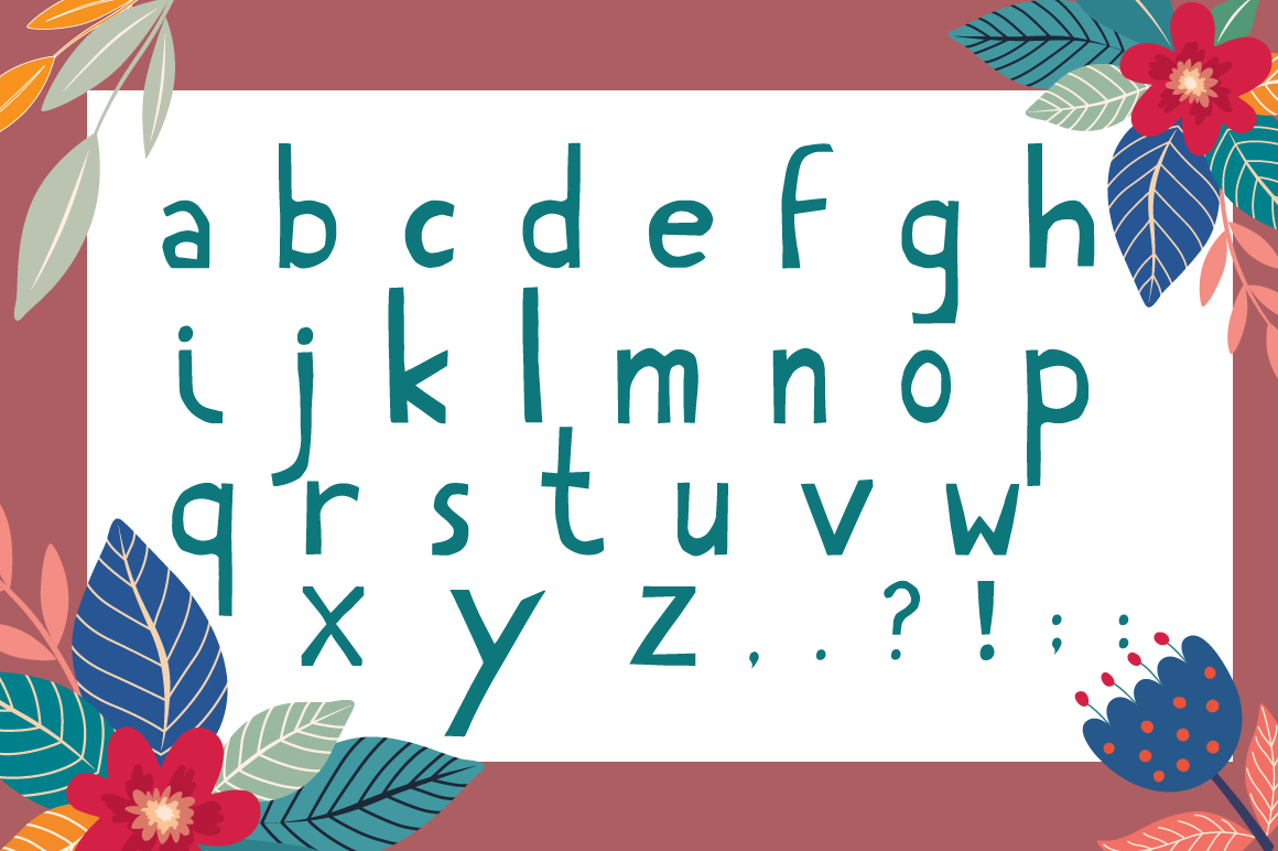 Hello Summer Cutout Font example image 6