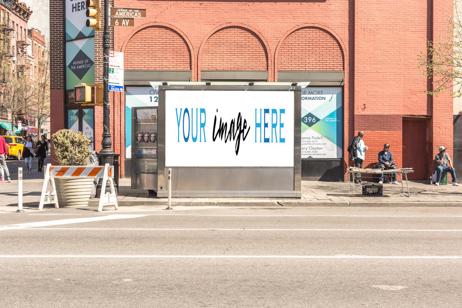 Set of 11 advertising billboard example image 7