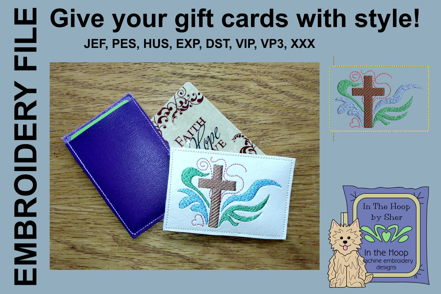 ITH Cross Gift Card Holder example image 2