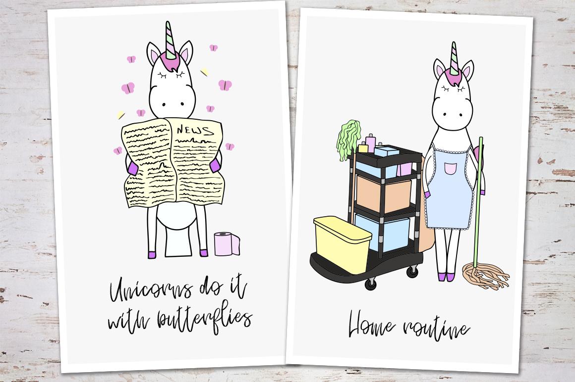 Unicorn's Daily Life example image 6