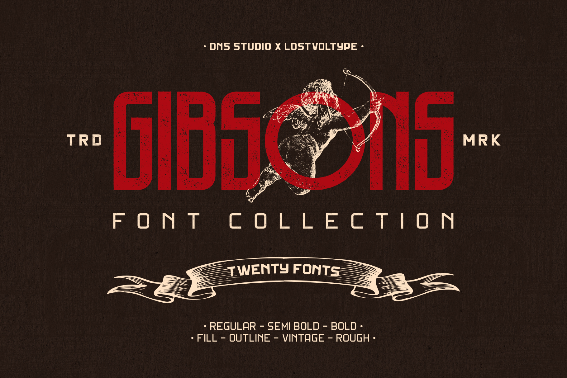 Gibson Font Collection example image 1