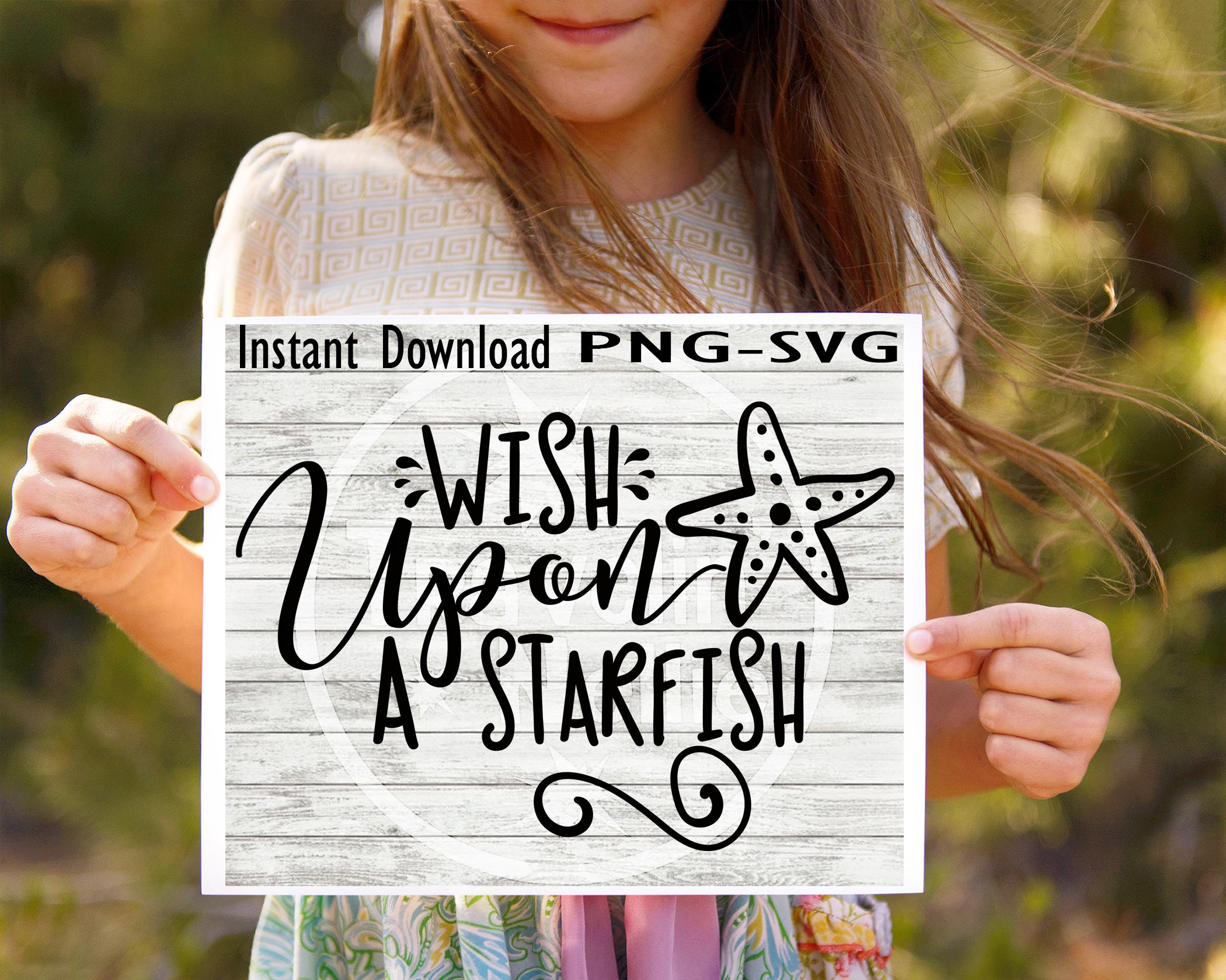 SVG Bundle, Sea SVG, Beach SVG, Collect Memories svg, Wish Upon A Starfish svg, Mermaid Kisses Svg, Starfish Wishes svg, Mermaid svg, SVG for Cricut example image 2
