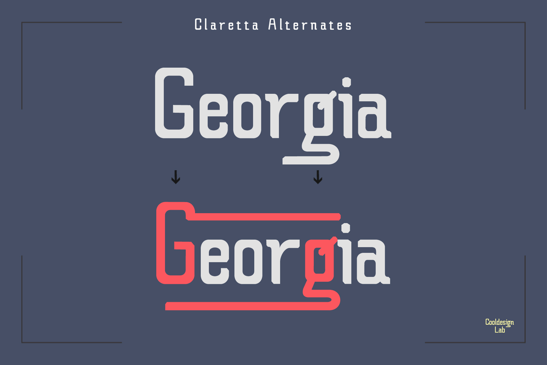 Claretta Font Family example image 5