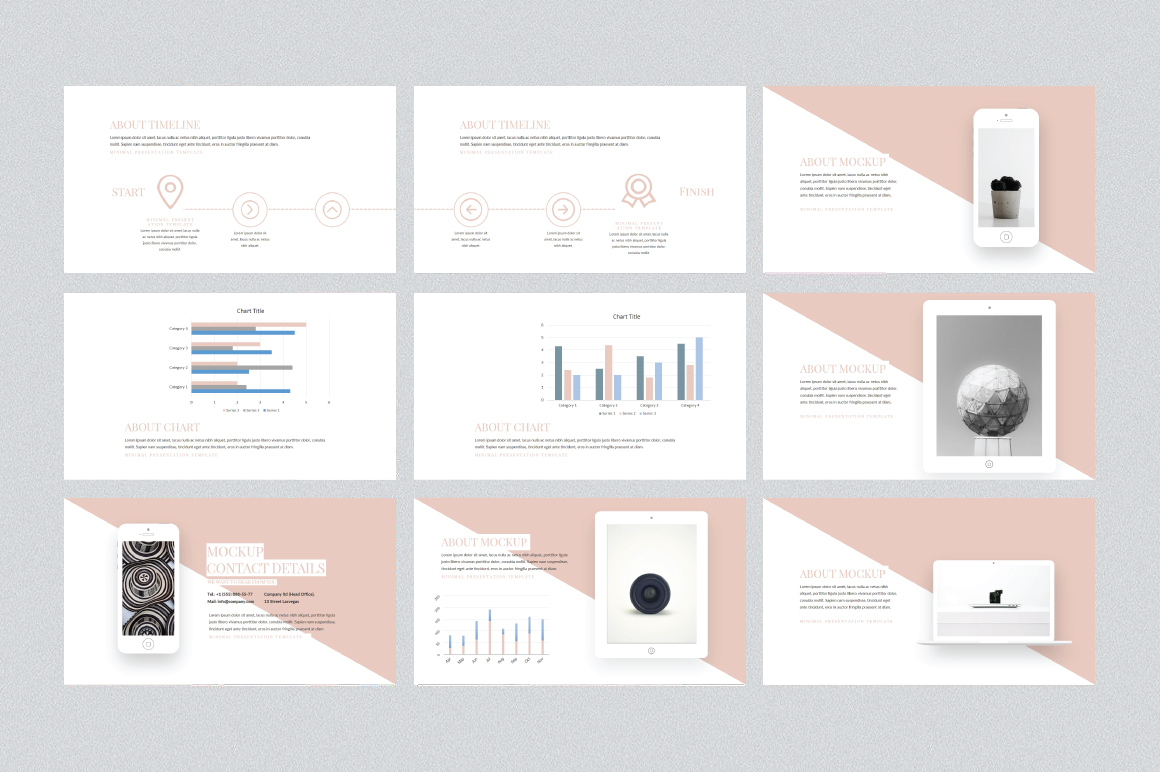 Soffie Keynote Template example image 4