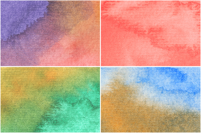 50 Watercolor Backgrounds example image 4