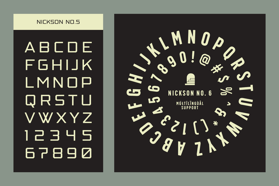 S&S Nickson Font Bundles  example image 7