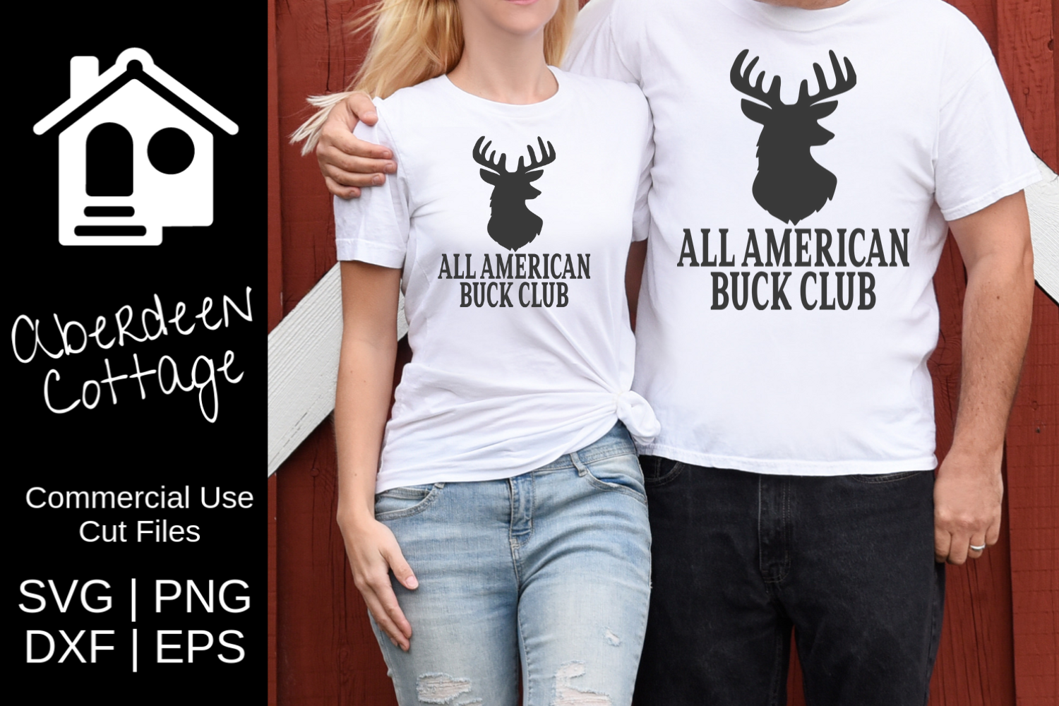 All American Buck Club 3 SVG example image 1