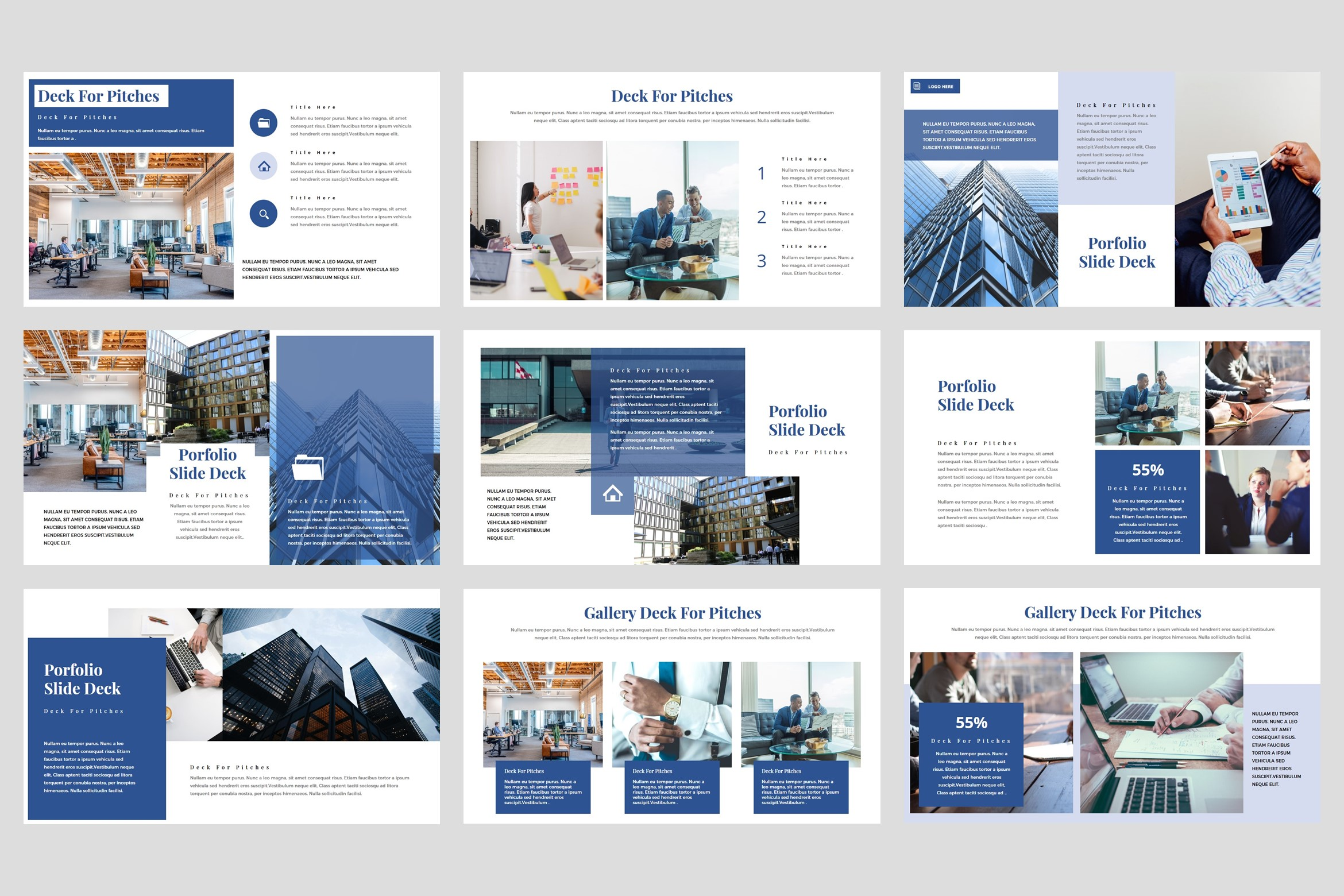 Flows - Pitch Deck PowerPoint Template example image 4