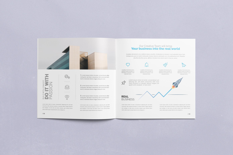 Multipurpose Square Brochure example image 6