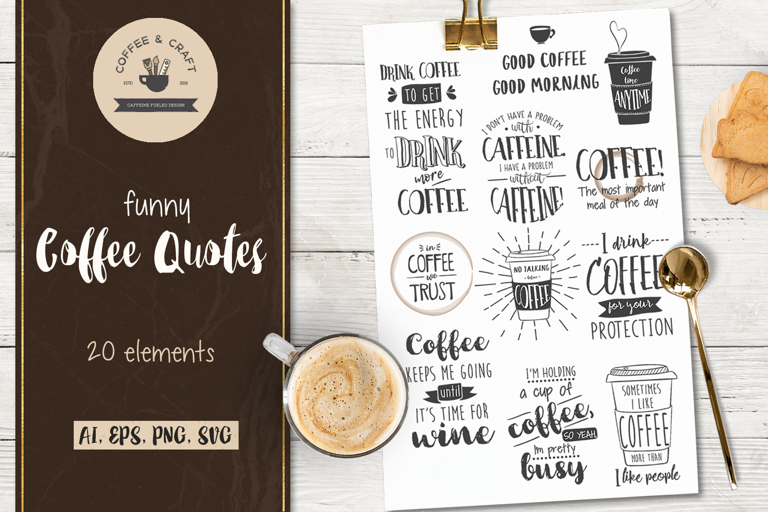 Funny Coffee Quotes example image 1