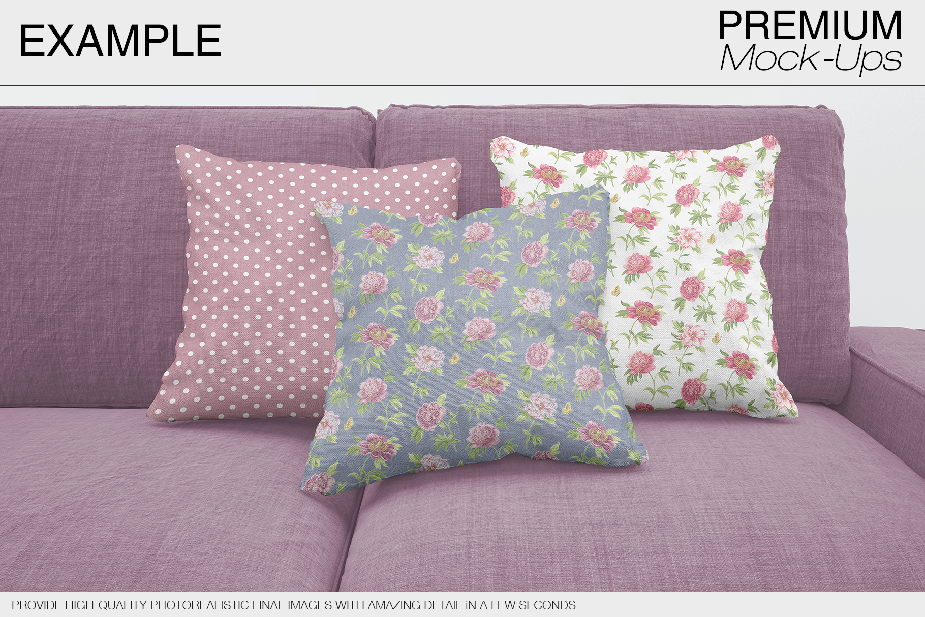 Pillow Mockups example image 8