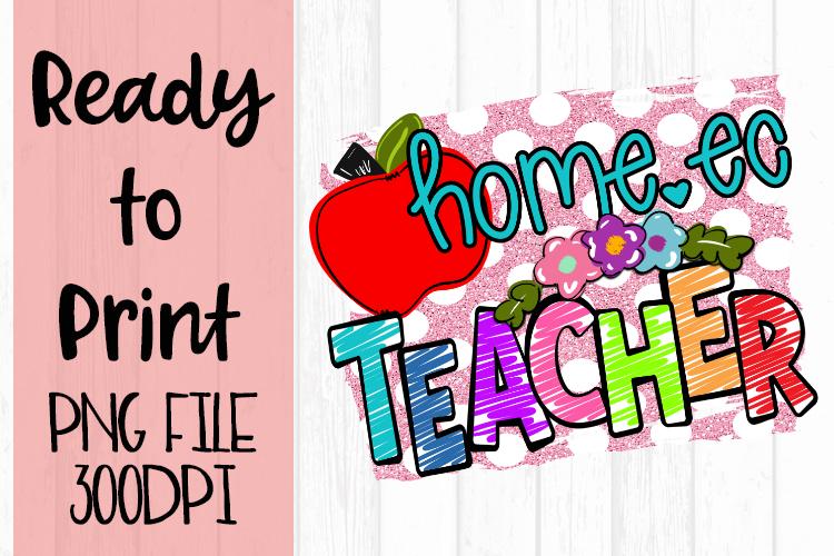 Home Ec Teacher Bright Ready to Print example image 1