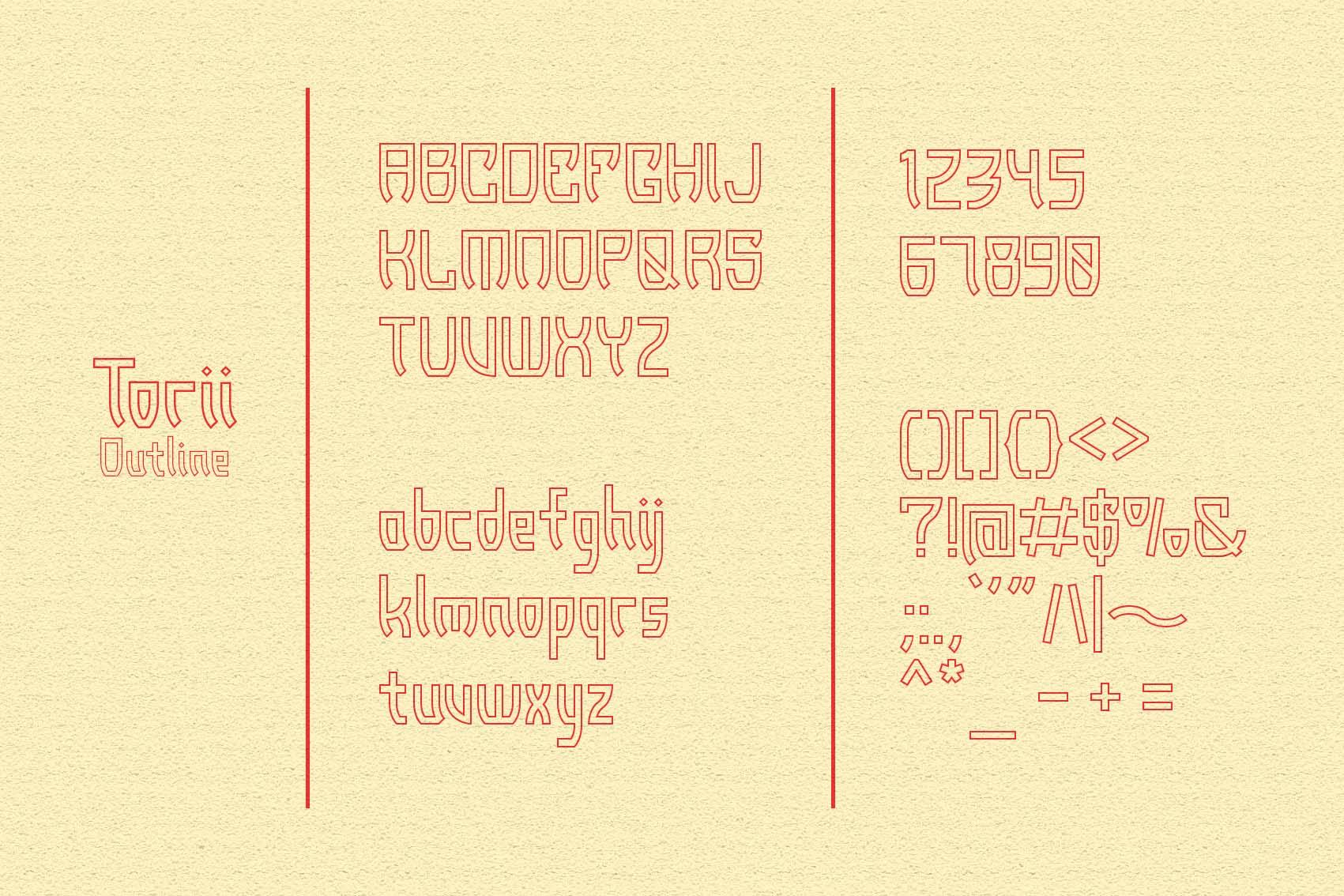 Torii - Japanese Style Typeface example image 6