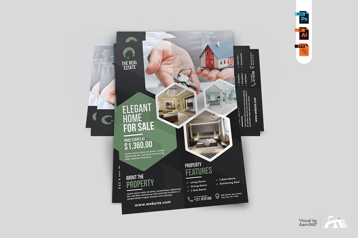 Real Estate Flyer Template example image 5