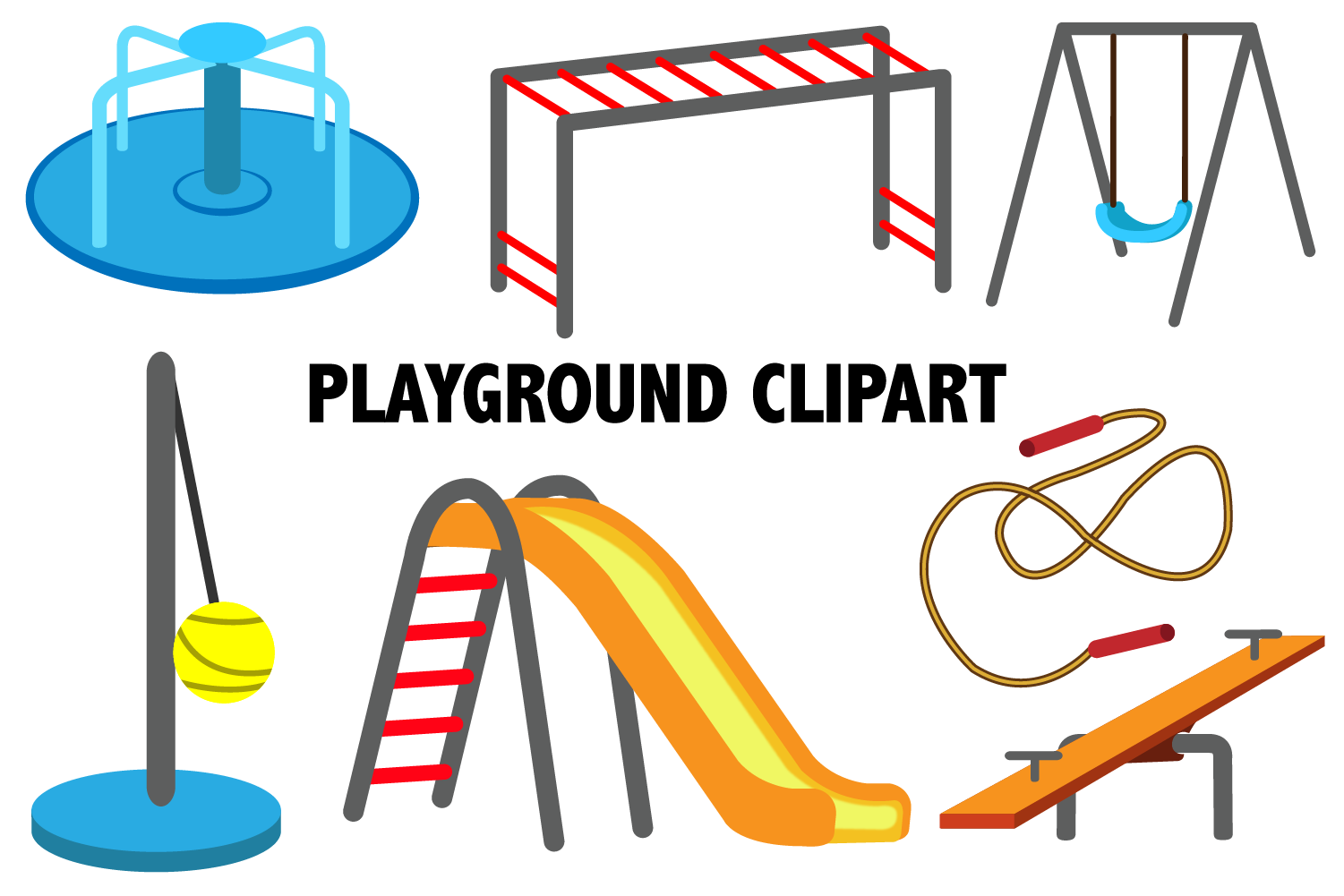 Playground Clipart example image 1