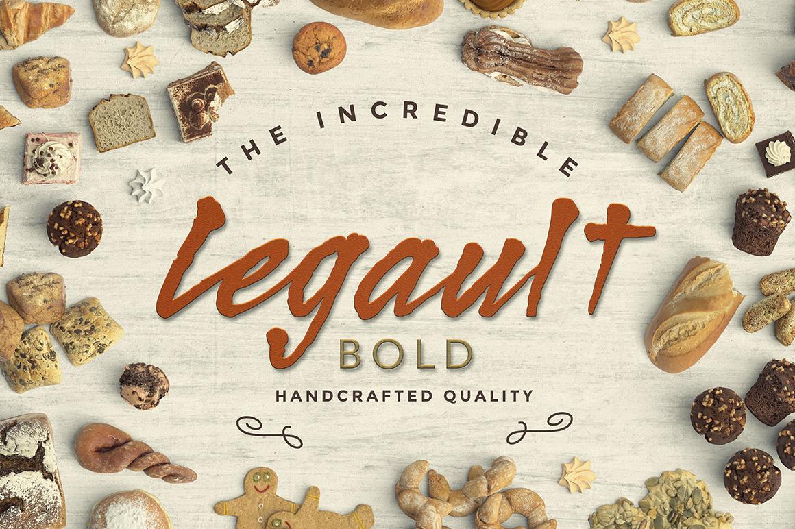 Legault Bold example image 1