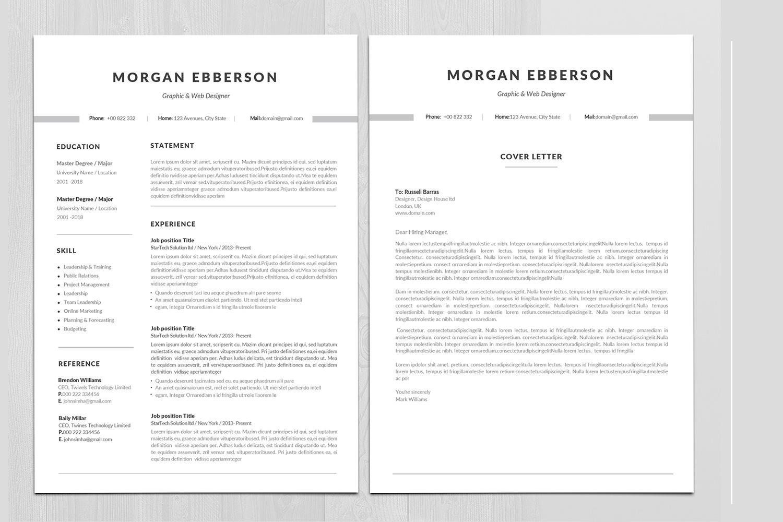 Minimal Resume in Word example image 2