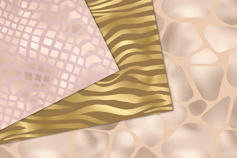 Shimmer Animal Print Digital Paper example image 3