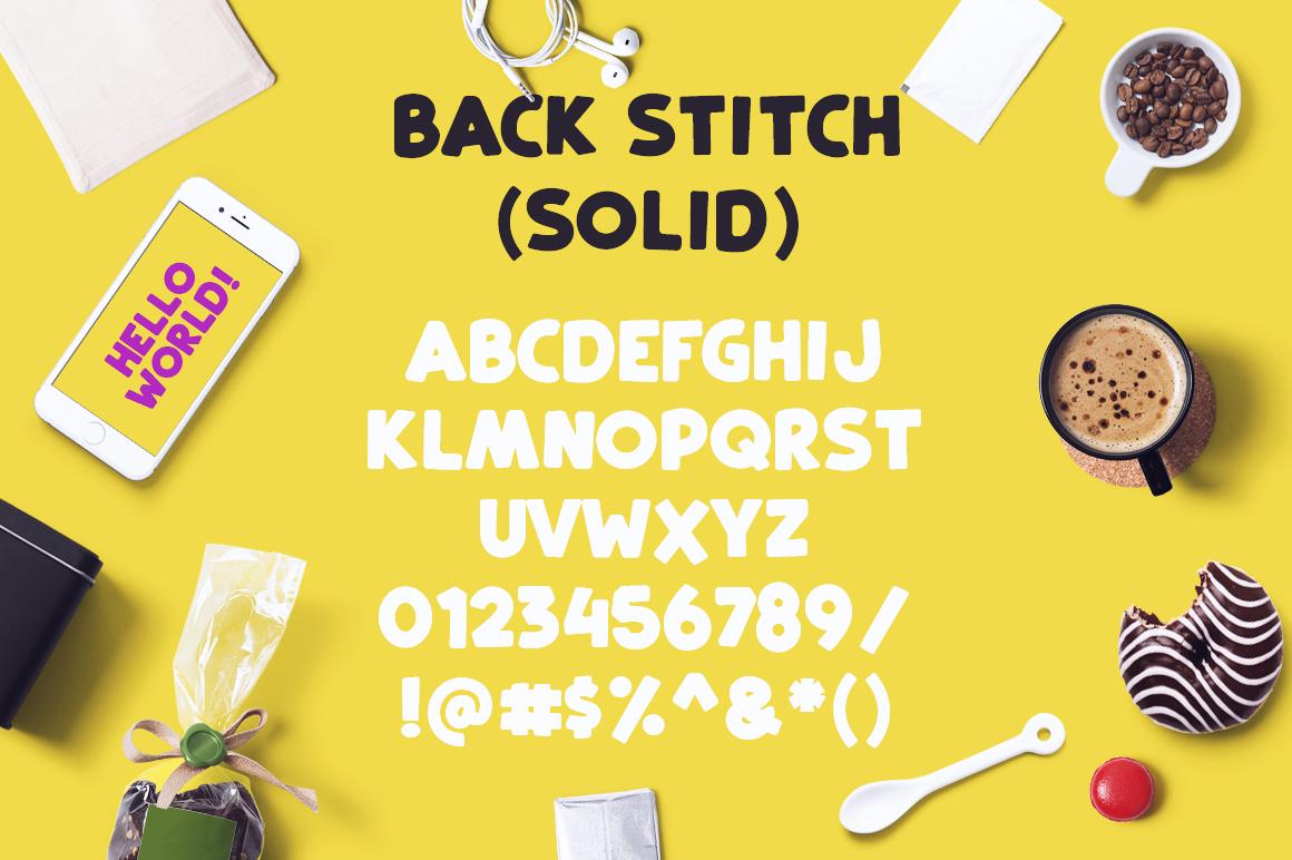 Back Stitch example image 4