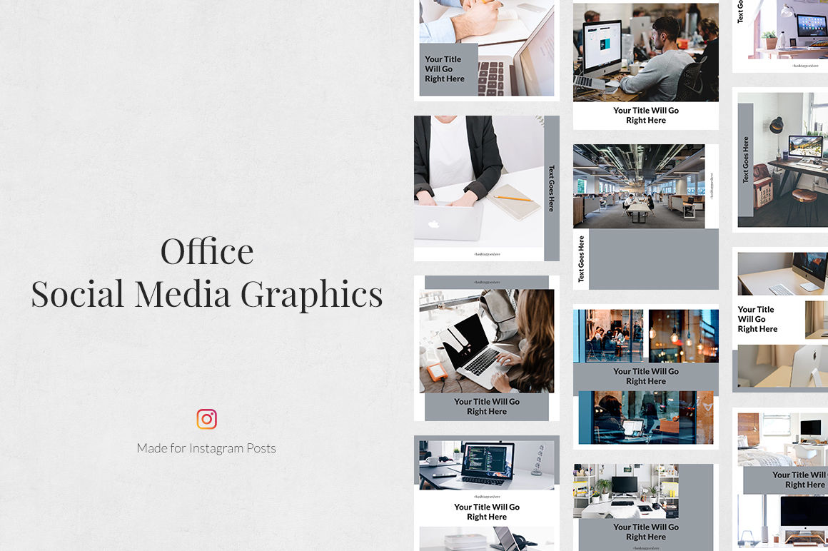 Office Instagram Posts example image 1
