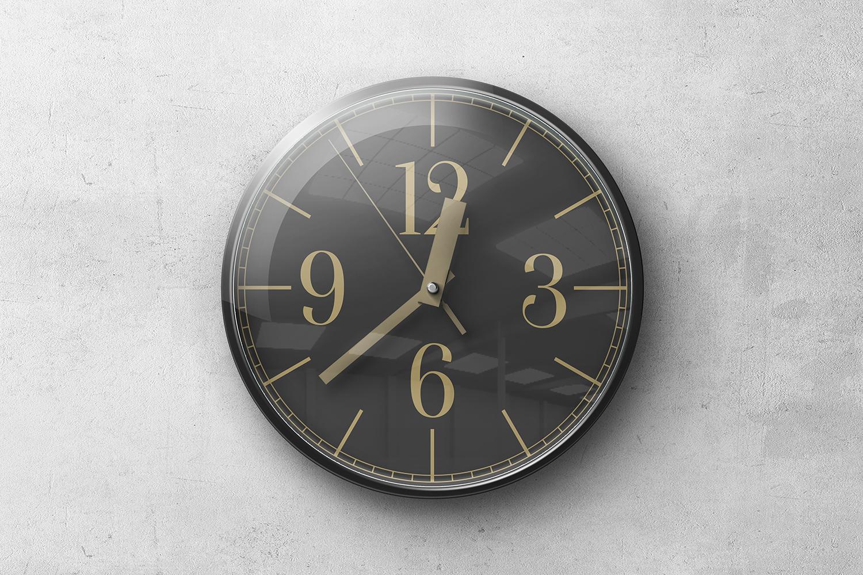 Wall Clock Mockups example image 5
