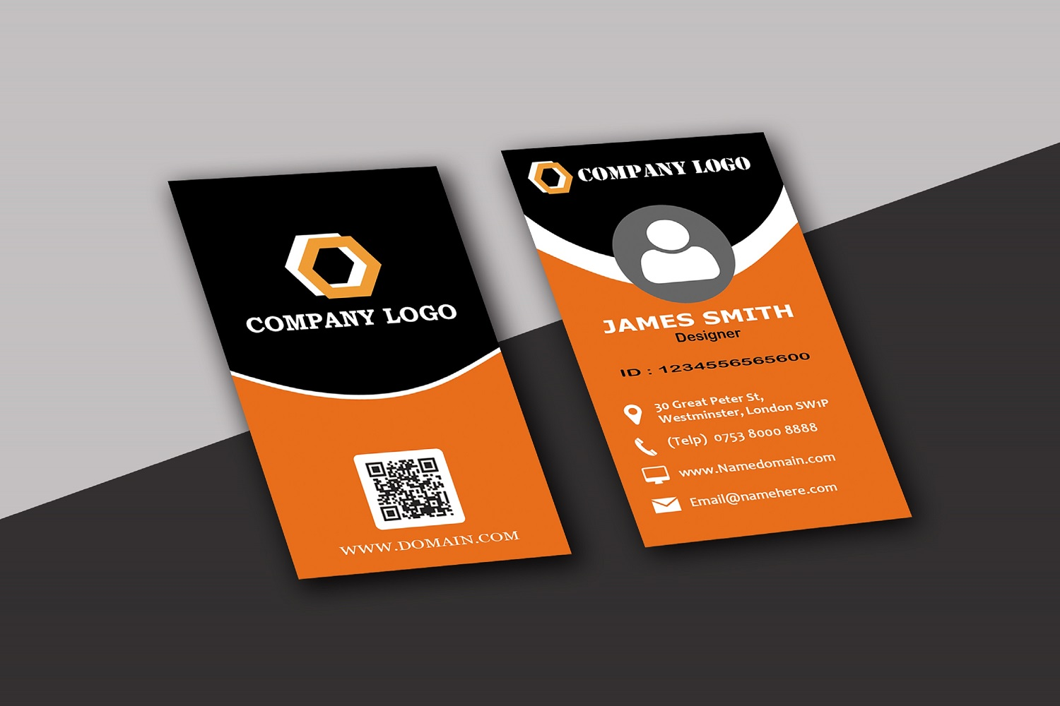 Modern Business Cards example image 10