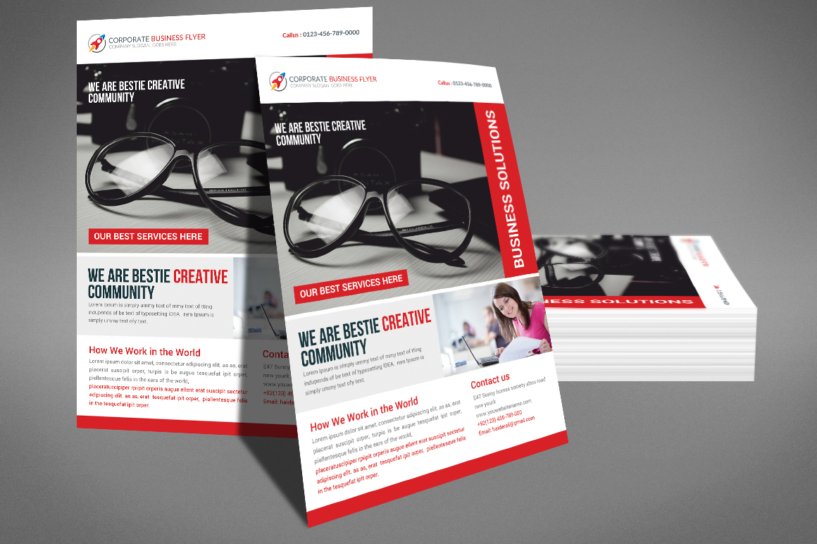Corporate Business Flyer Template example image 3