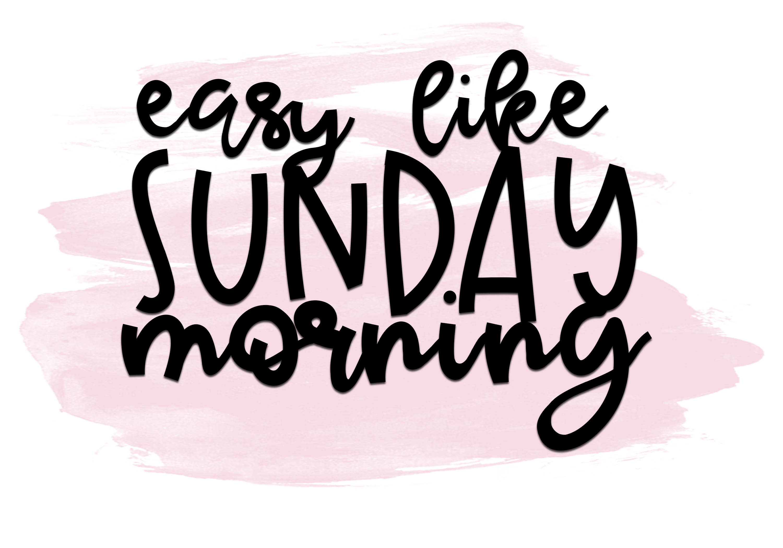Sunday Morning - Script Font example image 4