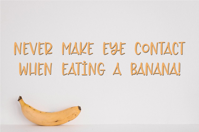 Toasty Banana - A Fun Hand-Written Font example image 2