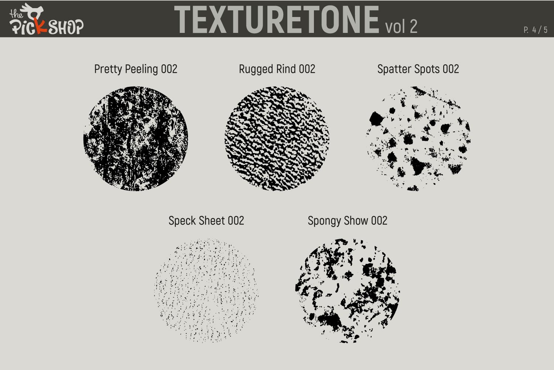 Texturetone Promo Pack. Vol 01 and Vol 02 example image 10
