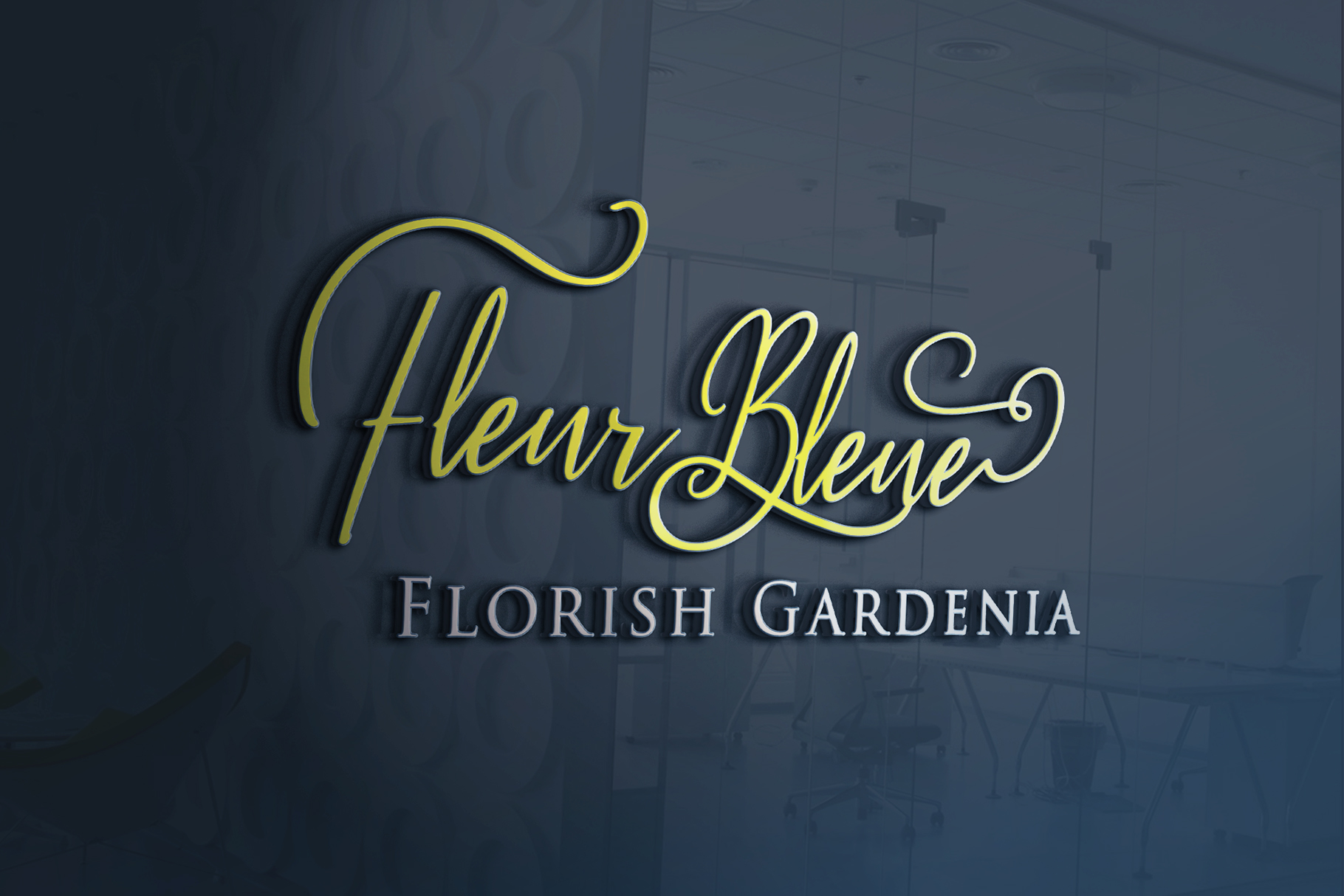 Fleur Bleue - Beautiful Romantic Font example image 6