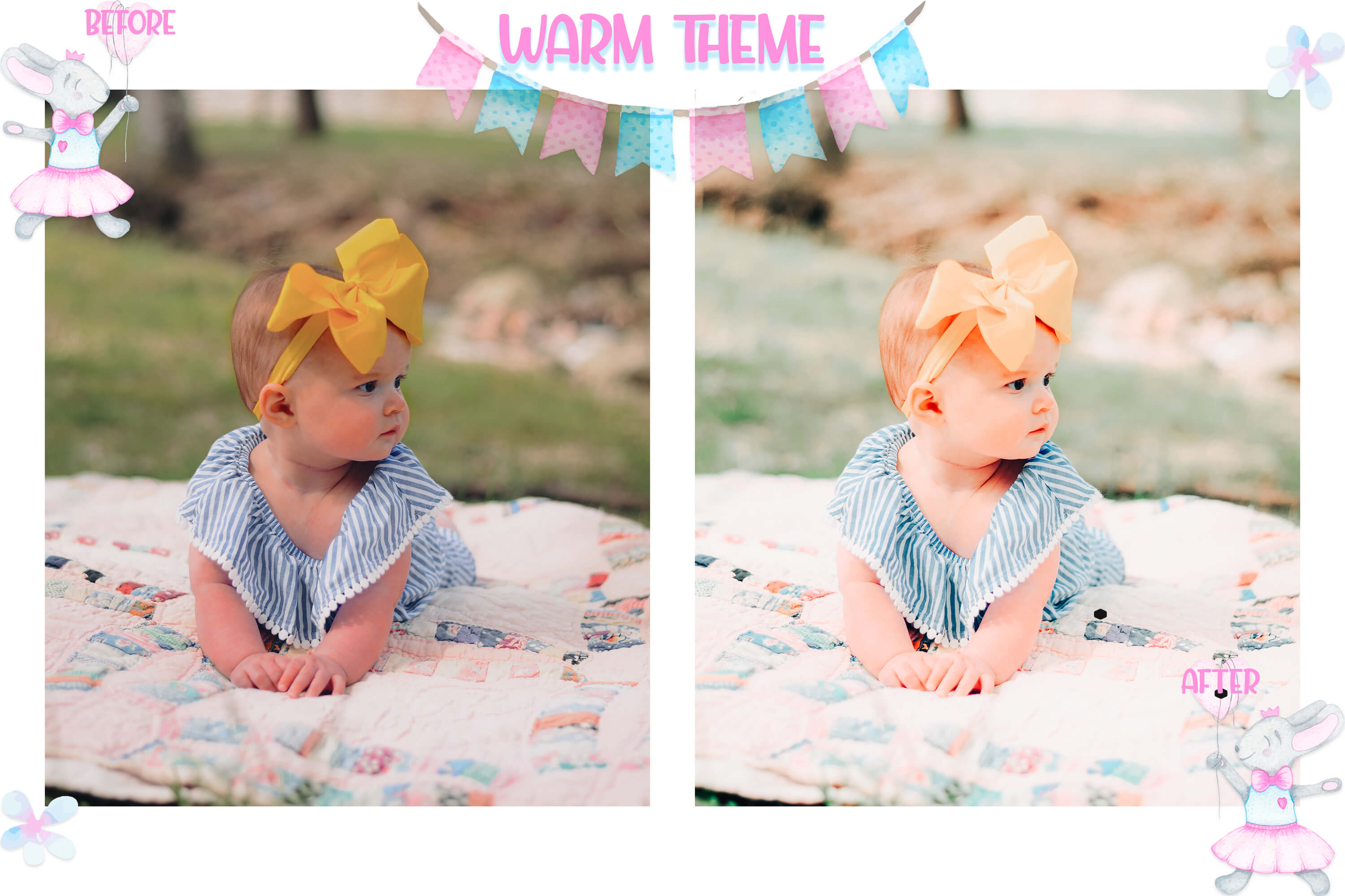 10 Newborn Mobile & Desktop Lightroom Presets, baby skin LR example image 5