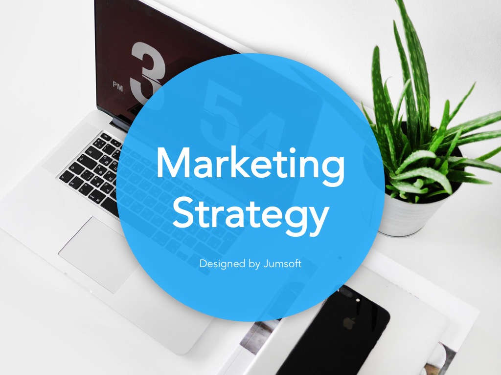 Marketing Strategy Google Slides Template example image 2