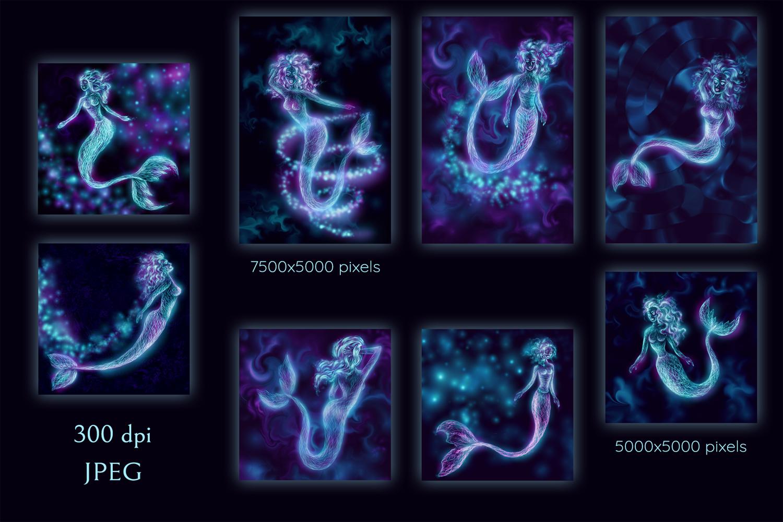 Shiny Mermaids example image 4