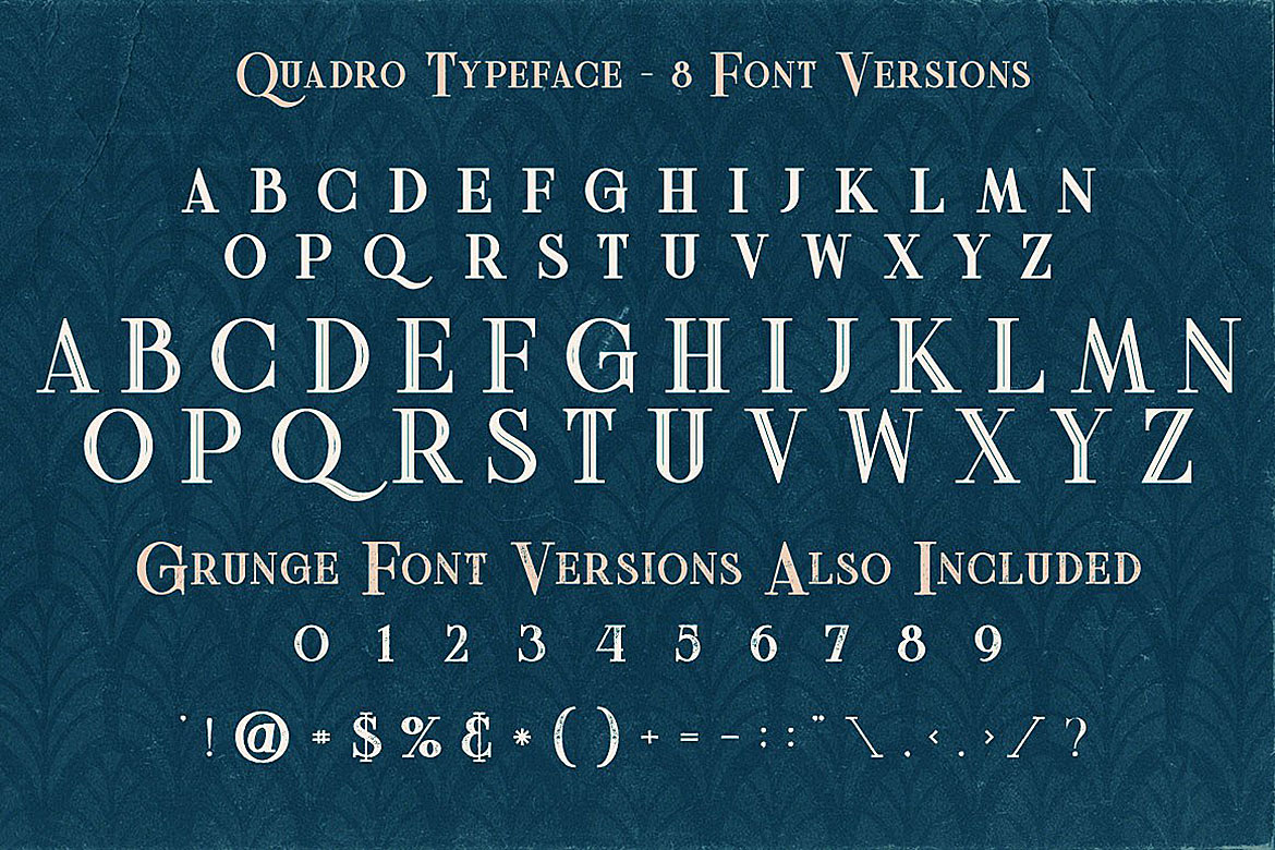 Quadro - Display Font example image 4