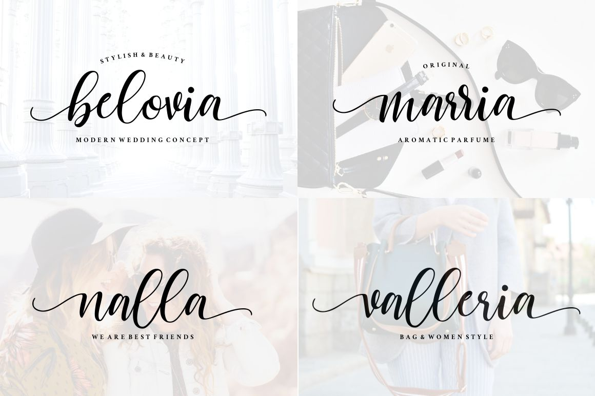 Cattalina - Beauty Script Font example image 3