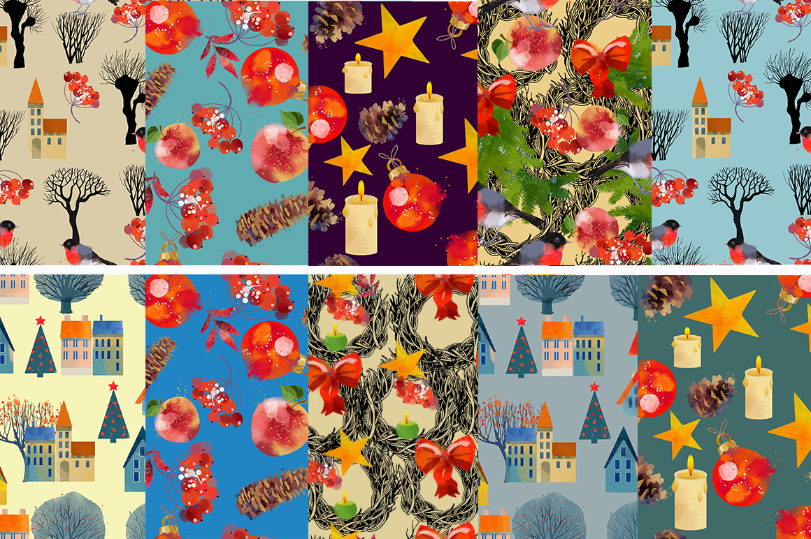 Christmas pattern collection example image 2
