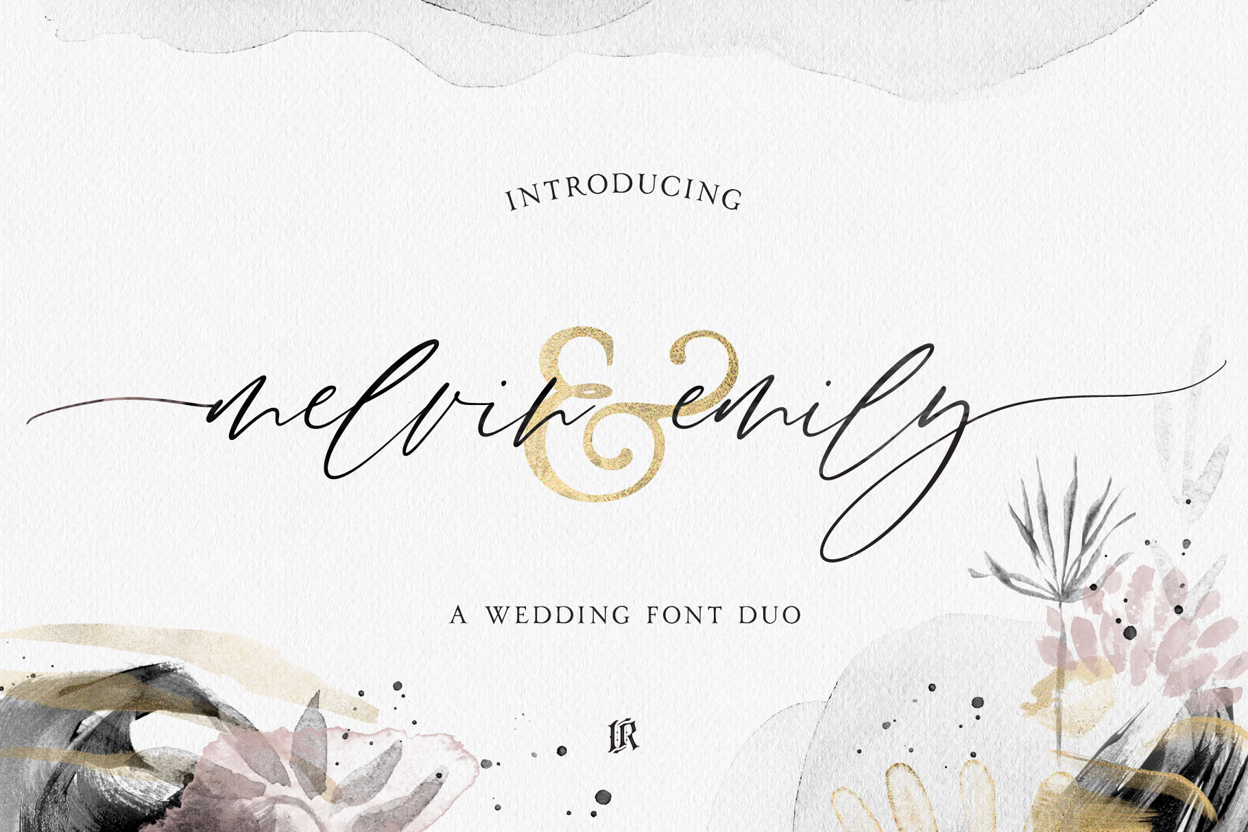 Melvin and Emily Font Duo example image 1