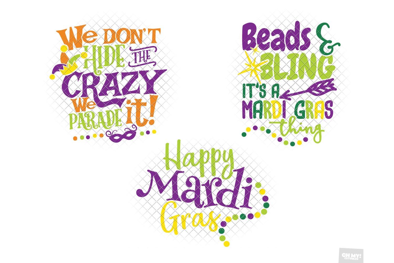 Mardi Gras SVG Bundle example image 3