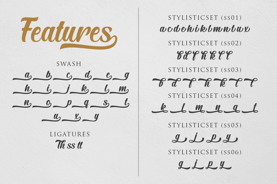 The Brands Font example image 10