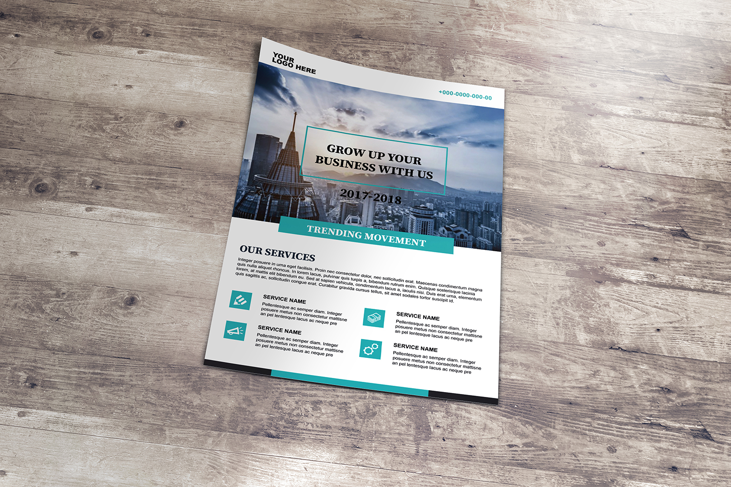 Business Flyer Template example image 3