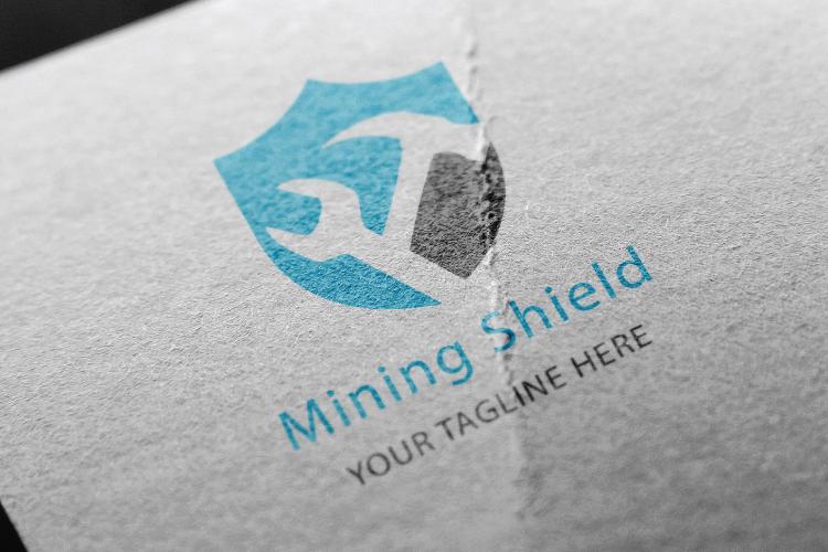 Mining Shield Logo example image 3